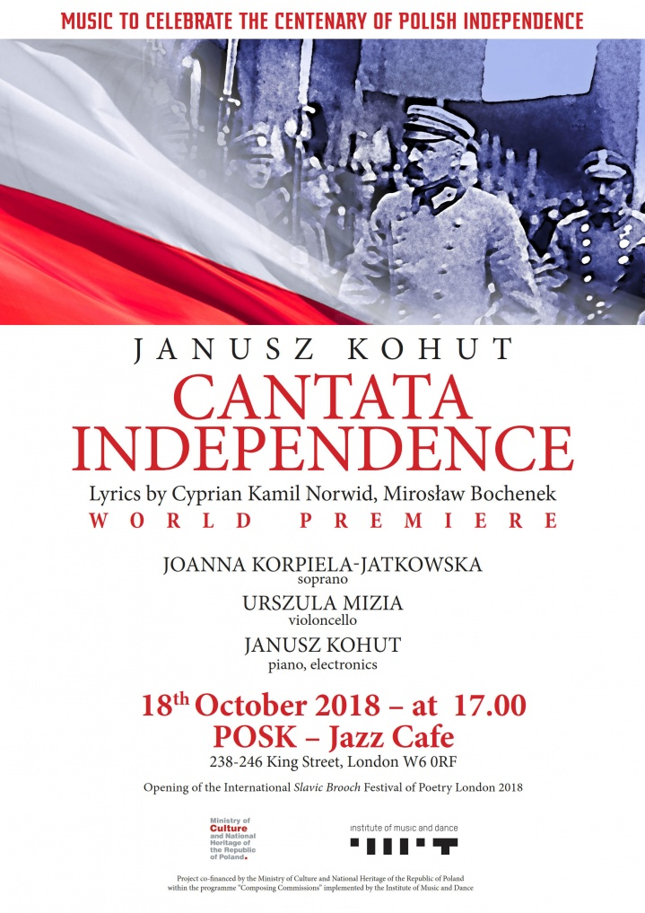 CANTATA INDEPENDENCE - world premiere