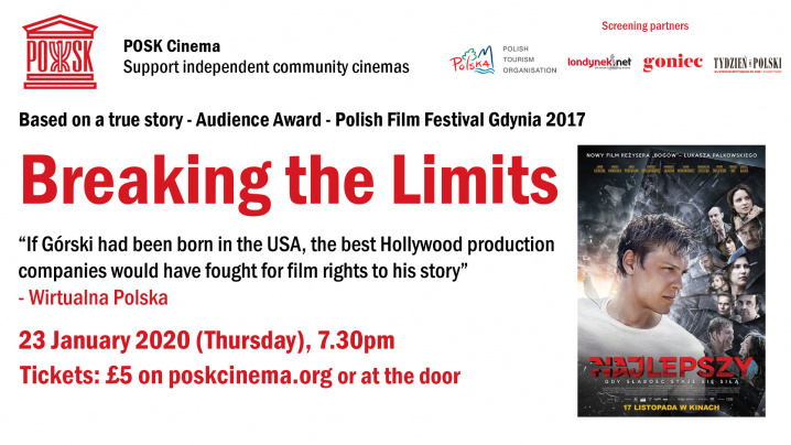 POSK Cinema: Najlepszy / Breaking the Limits