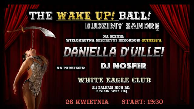 The Wake Up Ball! - Budzimy Sandrę.